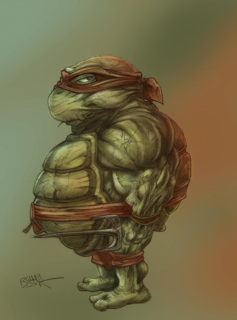 Raphael_Ninja Turtles